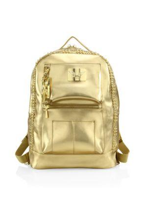 Swarovski Stone Accented Backpack