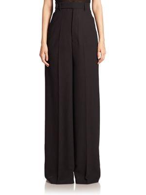 Astair Bell Wool Wide-Leg Pants plus size,  plus size fashion plus size appare