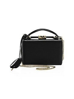 293d1c8b8361 QUICK VIEW. Mark Cross. Grace Mini Leather Box Crossbody Bag