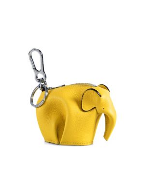 Elephant Leather Coin Purse by Loewe