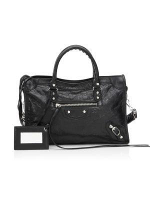 808be8550e Balenciaga - Papier Zip-Around A4 Leather Handbag - saks.com