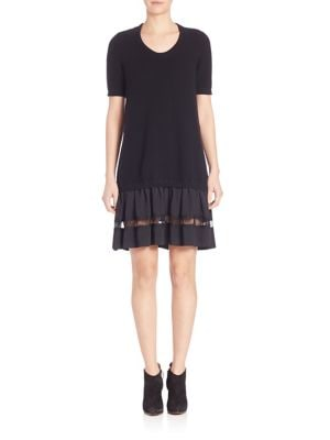 Buy NO. 21 Lace Inset Knit Dress online with Australia wide shipping