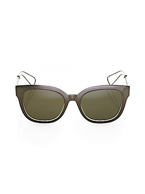 998dba9f52f51 Dior - 62MM Diorhit Flat Top Sunglasses - saks.com
