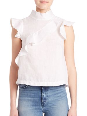Sorbonne Ruffle Top by McGuire