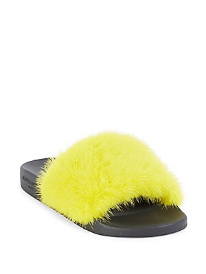 416f0192d51d Givenchy - Women s Mink Fur   Rubber Slides - saks.com