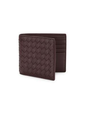 Bottega Veneta Wallets Leather Woven Wallet