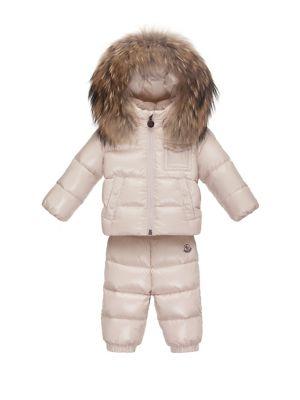 adf6e28d3075 Moncler - Little Girl s   Girl s Moka Puffer Jacket - saks.com