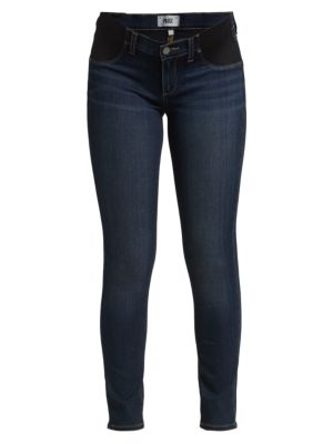 PAIGE MATERNITY Verdugo Ultra-Skinny Maternity Jeans in Nottingham