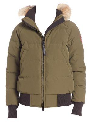 7dcf6f122 Moncler - Coyote Fur-Trim Down Jacket - saks.com