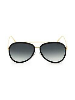 b551c28565cd QUICK VIEW. Fendi. 57MM Aviator Sunglasses