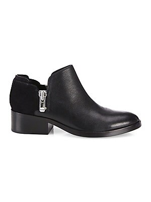 84ec5a8ba 3.1 Phillip Lim - Alexa Zipped Leather   Suede Ankle Booties - saks.com