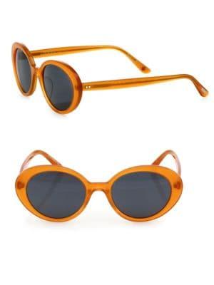 Parquet 50MM Oval Sunglasses