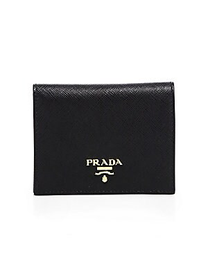 23a8b82faffb Prada - Mini Saffiano Leather Bifold Wallet - saks.com