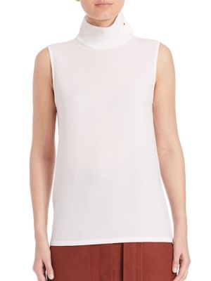 Savanna Crepe Top by Tibi