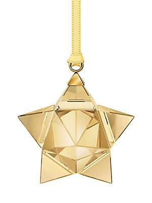 2aeb58d43 Swarovski - Goldtone Star Ornament - saks.com