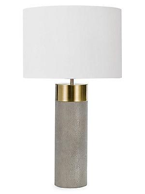 Regina Andrew Design Harlow Shagreen Cylinder Lamp