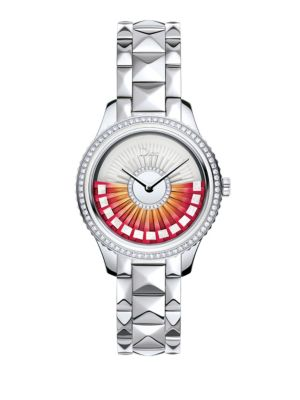 Dior VIII Grand Bal Limited-Edition Diamond & Stainless Steel Bracelet Watch