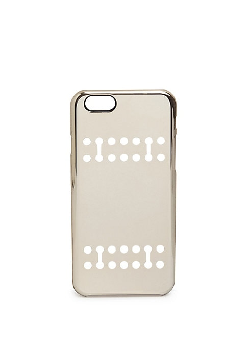 "Image of Innovative protective case in a reflective finish. Fits iPhone 6/6s.Plastic.5""W X 7""H X 2""D.Imported."