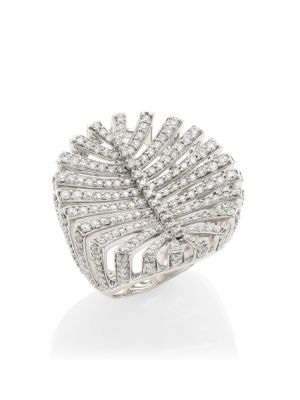 Hueb Accessories Apus 18K White Gold & Diamond Ring