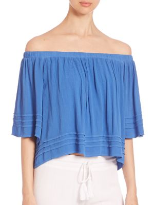 Perris Off-The-Shoulder Top by YFB Clothing