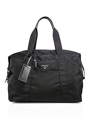 28fb547511b1 Prada - Sacca Weekender Duffle Bag - saks.com