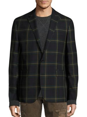 Polo Ralph Lauren Morgan Plaid Wool Sportcoat 0d1af4a9f51