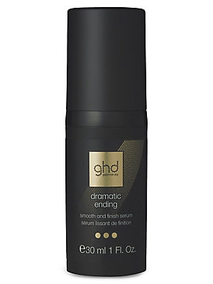 Image of Add shine and smoothness to straight styles; tame and define curls and waves; control flyaway hair caused by static and disguise the appearance of split and dry ends with this luxurious finishing serum. Dispense one pump for fine to normal hair, or a pump