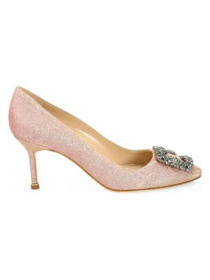 Hangisi 70 Jeweled Pump by Manolo Blahnik