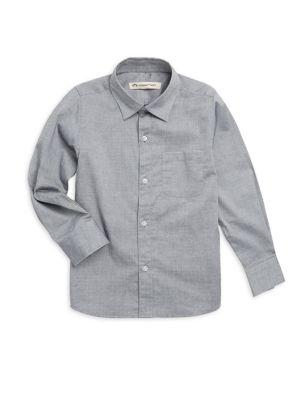 Boys Pindot Standard Shirt