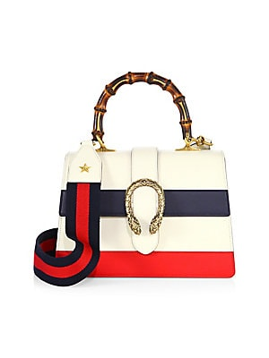 c8437db03e3 Gucci - Dionysus Small Leather Top-Handle Bag - saks.com