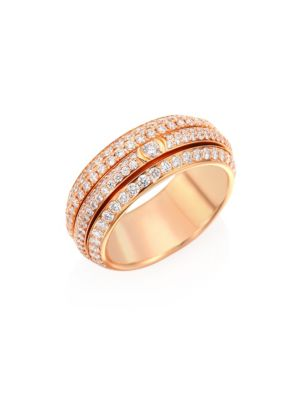Piaget  Possession Diamond & 18K Rose Gold Ring