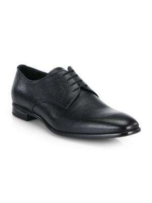 Saffiano Leather Shoes by Prada