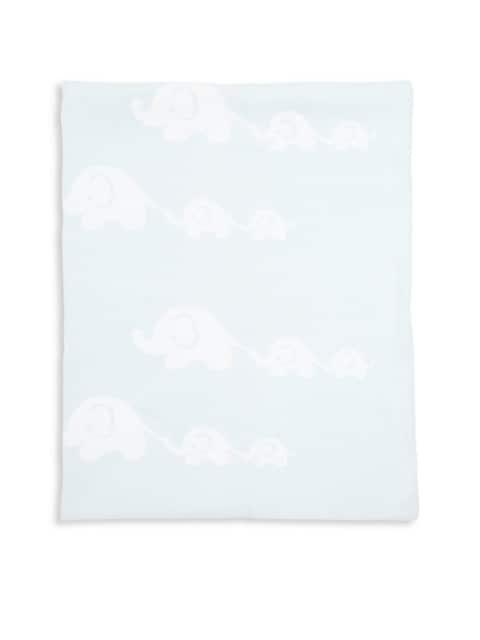 Baby's Cotton Elephant Blanket
