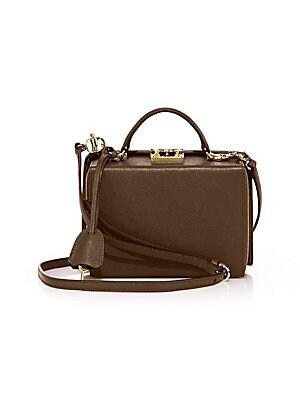 cd077a5a2937 Mark Cross - Grace Small Leather Box Crossbody Bag