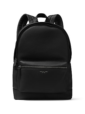 2afe5a906de5 Michael Kors - Bryant Pebble-Textured Leather Backpack - saks.com