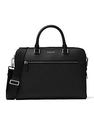 141c3a27a446 Michael Kors - Harrison Leather Briefcase - saks.com