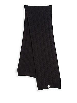 ccbbe903b0e Moncler - Knit Virgin Wool Scarf - saks.com