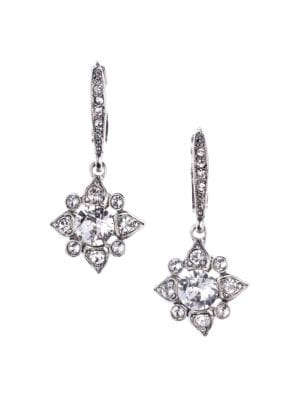 Delicate Star Earring, Crystal/Silver