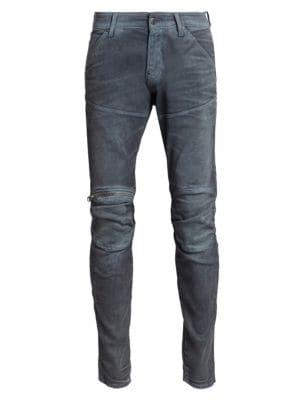 5620 3D Slim Fit Zip Knee Jeans