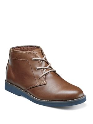 Toddlers  Kids Leather Chukka Boots