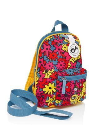 Kids Floral Printed Backpack