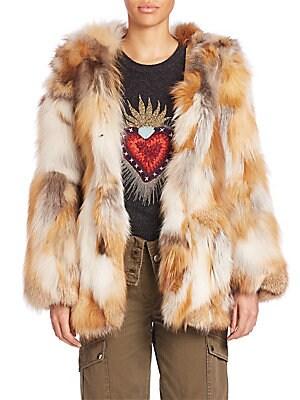 b12076140b3 Cinq à Sept - Windsor Fur Coat - saks.com