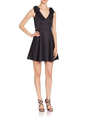 Buy Shoshanna V-Neck Pleated Dress online with Australia wide shipping