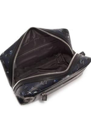 SALVATORE FERRAGAMO Accessories Motorbike Calfskin Leather Dopp Kit