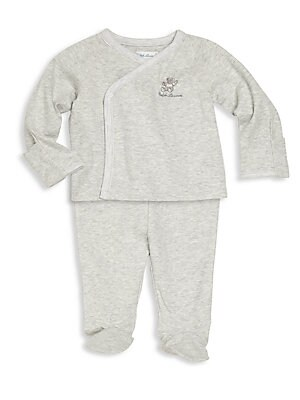 c9e3931a78ce Ralph Lauren - Baby s Embroidered Pony Footie - saks.com