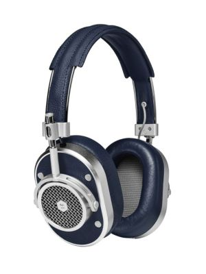 MASTER & DYNAMIC Mh40 Over-Ear Headphones in Navy Silver