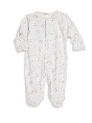 Babys Pima Cotton Footie