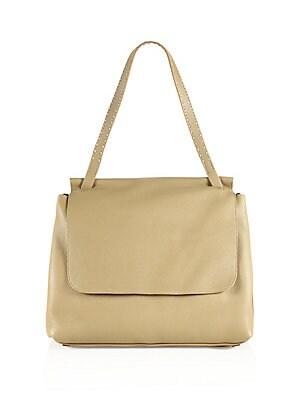 73f266b671 The Row - Sidekick Leather Messenger Bag - saks.com