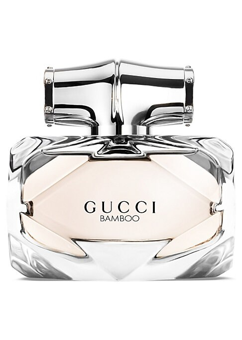 Image of Gucci Bamboo narrative continues with a new scent, Gucci Bamboo Eau de Toilette. The new scent pulsates with the original Eau de Parfum's inspiration: bamboo, one of the House's most celebrated and elegant design signatures, and its references in the Gucc