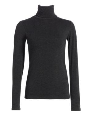 Soft Touch Turtleneck Top by Majestic Filatures